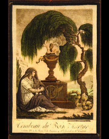 MINIATURE ROYALE Louis-xvi-urne-funeraire