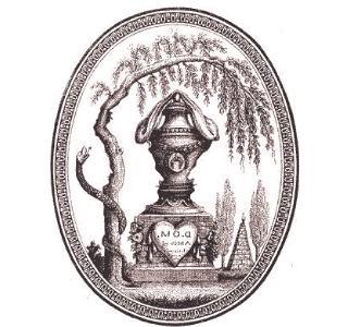 MINIATURE ROYALE Louisxvi-urne-funeraire
